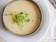 Kremowa zupa z gruszki i pietruszki