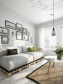 obrazy nad sofa