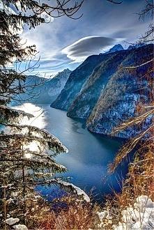 Jezioro Königssee - Niemcy