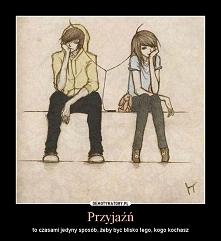 Przyjaźń bywa skomplikowana, nigdy nie jest łatwa, najgorzej jest wtedy gdy się zakochasz w tej osobie... :/