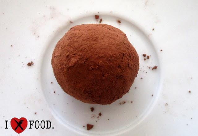 Wegańskie czekoladowe trufle <3