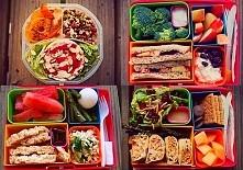 jedzenie w pudełkach <3