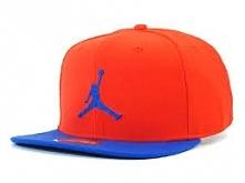 Orange and Blue Nike Air Jordan