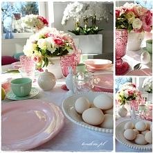 Wielkanocne nakrycie stołu ...