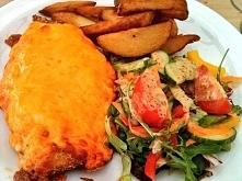 Tak zwane ''Chicken Parmo''jest specjalniscia Middlesbrou...