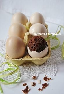 Czekoladowe jajeczka w skor...