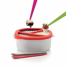 Zestaw do fondue z kuchenki mikrofalowej silikonowy LEKUE NATIVE
