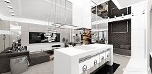 nowoczesna kuchnia z wyspą | EMOTIONAL POWER | Apartament