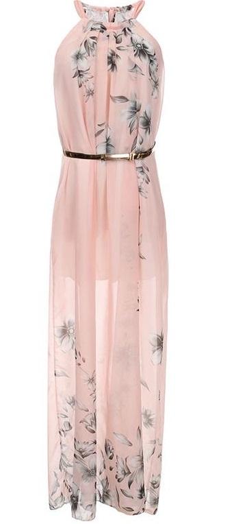 Długa zwiewna suknia. Kliknij w zdjęcie i zobacz gdzie można kupić !