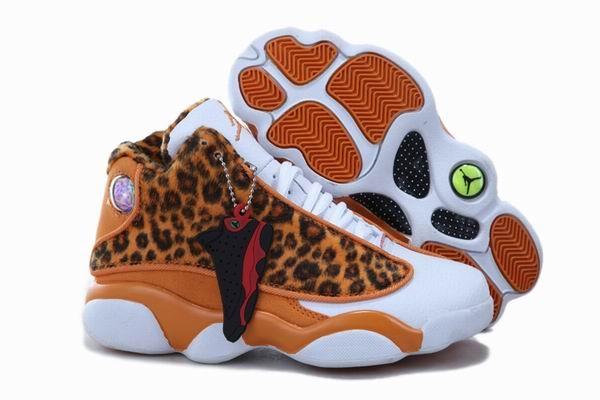 Leopard Print Jordan Kids