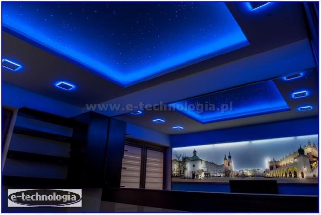 Oświetlenie Sypialni Gwieździstym Niebem Gwiezdnym Niebem
