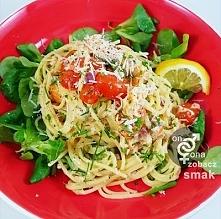 spaghetti,wędzonyłosoś,rosz...