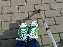 Uwielbiam trampki♥ chociaż czekam aż ubiore szpilki:-)