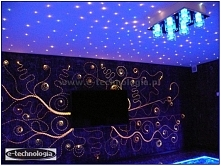 Oświetlenie ściany - oświetlenie LED ściany - oświetlenie ścienne - dekoracje...