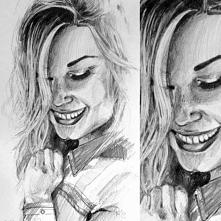 Ołówek,Portret+detal :) Zapraszam do polubienia mnie na fb i instagramie. Kli...