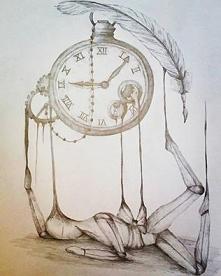 Człowiek jest marionetką czasu, który pisze dla niej scenariusz...