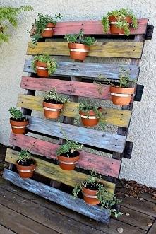 Prosty sposób na oryginalną ozdobę do ogrodu czy na taras :)