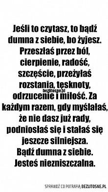 Jesteś niezniszczalna :)