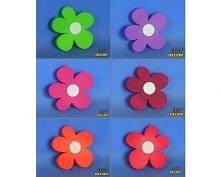 Zestaw Kwiatów 13 CM - 6 Sz...