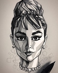 Interesting Style of Portrait Drawings by Turkish Artist Umityanilmaz