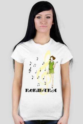 "Koszulka z napisem ""Kokietka"""