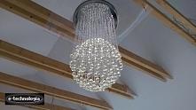 Oświetlenie salonu zaprojektowane przez firmę e-technologia. Prezentujemy zdj...