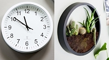 Doniczka z zegara DIY