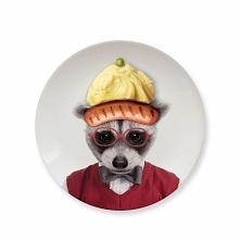 Ceramiczny talerzy deserowy. Dla małego niejadka.   gadżety do domu ucieszy.p...