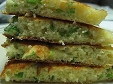 Zielone warzywne pancakes