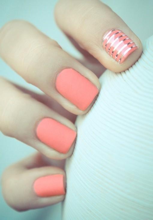 Piękny kolor! Wskazujący zamienić z serdecznym i ideał :) Co myślicie?