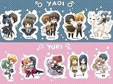 Wolicie Yuri czy Yaoi? :3