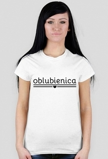 Damska koszulka z napisem Oblubienica