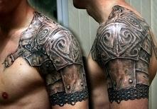pancerz tatuaż