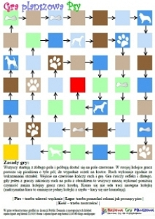 Psy to gra dla 2-4 osób. Gracze wcielają w tytułowe zwierzaki a celem gry jes...
