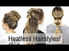 7 Days of Heatless Hairstyles! - Kayley Melissa