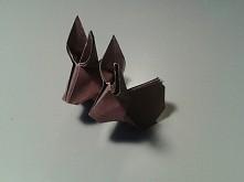 Króliczki origami