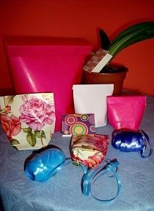 Ozdobna paczuszka prezentowa z papieru (DIY)
