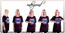 T-shirt projektanta Frances...