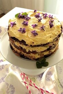 Pyszny, lekki, niecodzienny - tort ryżany z kremem jaglanym! cakesbykejt.blogspot.com
