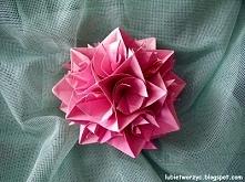 Kula z kręciołków origami