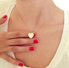 Naszyjnik serduszko celebrytka - 9,99zł LINK w komentarzu:) Dużo taniej i pięknej biżuterii.