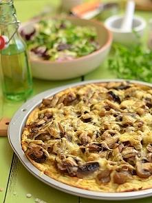 Pizza z ziemniaków z mnóstw...