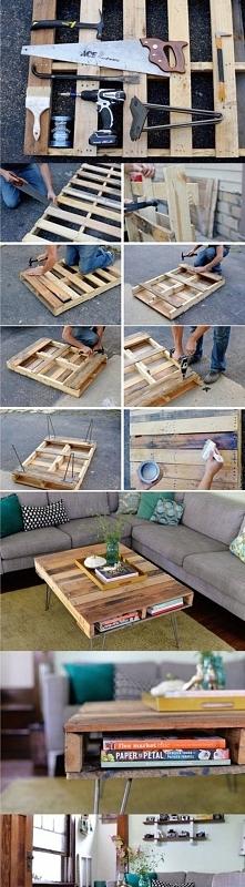Stolik DIY