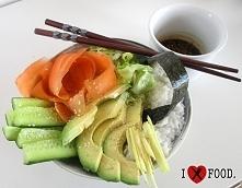 Sushi bowl. Przepis w komen...
