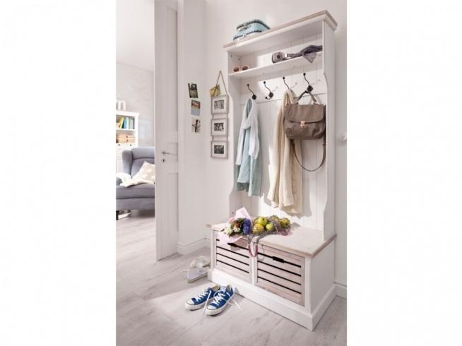 Prowansalska Biała Garderoba Z Kolekcji Louise Wykonana W