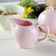Mlecznik / Dzbanek do mleka ceramiczny AFFEK DESIGN SENCILLO RÓŻOWY 300 ml
