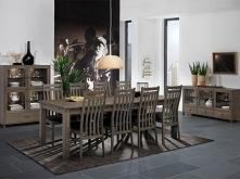 Klasyczne krzesło z kolekcji Jersey wykonane z litego drewna dębowego. Cała kolekcja Jersey oraz wiele więcej mebli dostępne na seart.pl