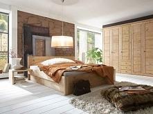 Solidne łóżko z kolekcji Bristol wykonane z litego drewna sosnowego. Cała kolekcja Bristol oraz wiele więcej mebli dostępne na seart.pl