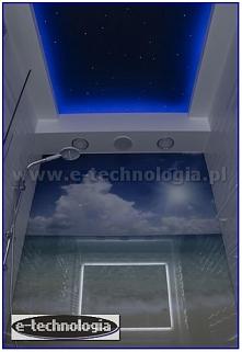 Gwiezdne niebo w łazience -...