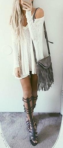 Prześliczna stylizacja :) Ten sweterek jest mistrzowski! Idealna na lato
